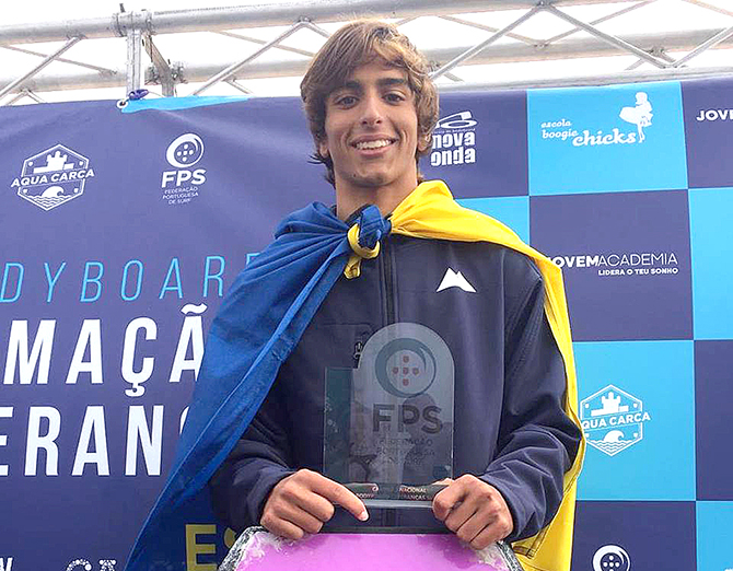 David Vedor (Estoril) campeão nacional(T)