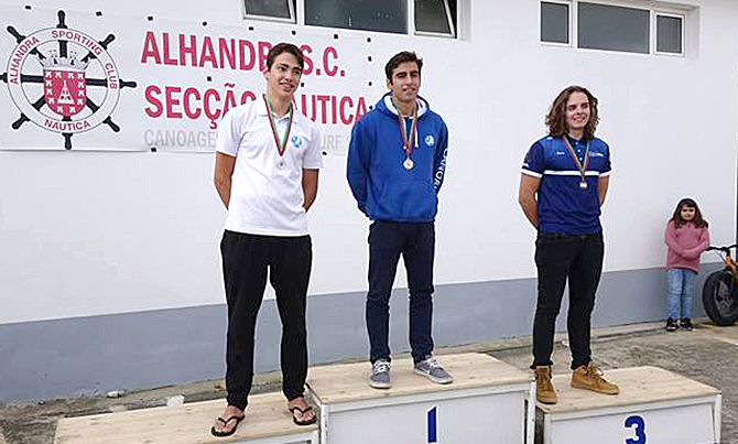Portugal sagrou-se vice-campeão europeu no Complexo Desportivo do CT Estoril(T)
