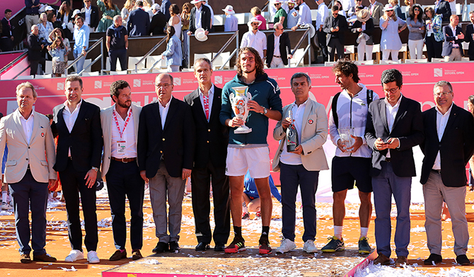 "Tsitsipas 5.º campeão do ""Estoril Open""(T)"